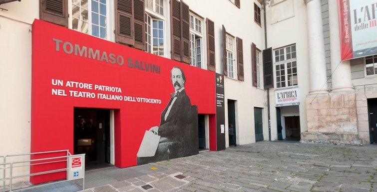 Tommaso Salvini a Palazzo Ducale