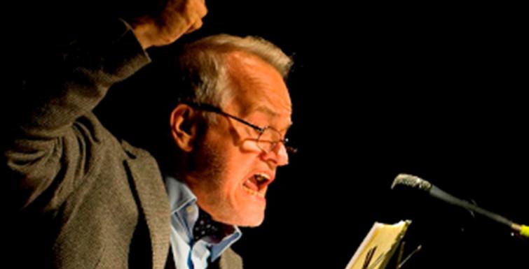 Paolo Puppa, libro e performance
