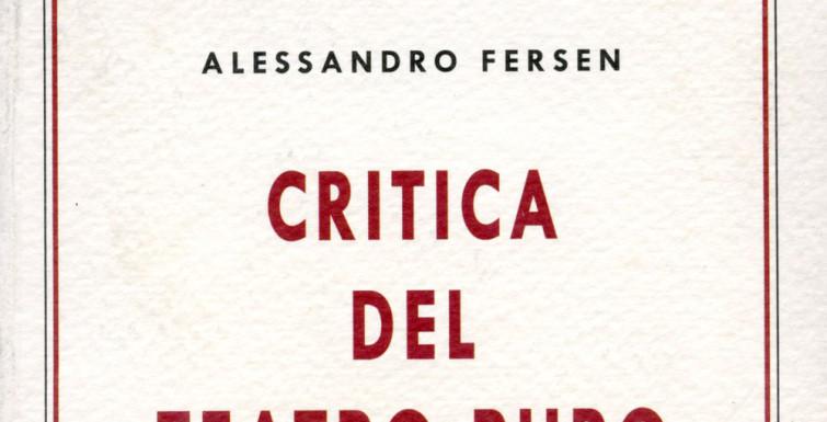 Critica del teatro puro