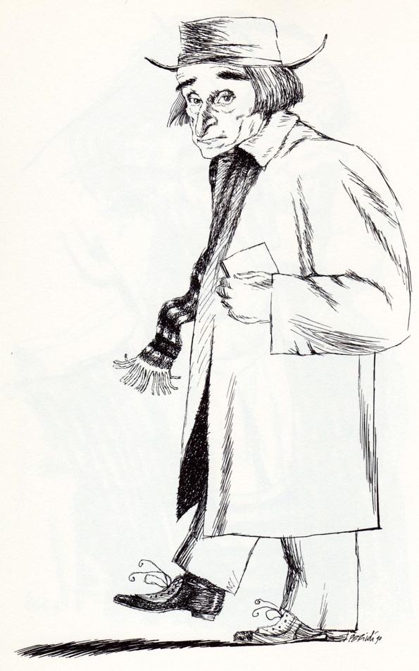 disegno di Tullio Pericoli